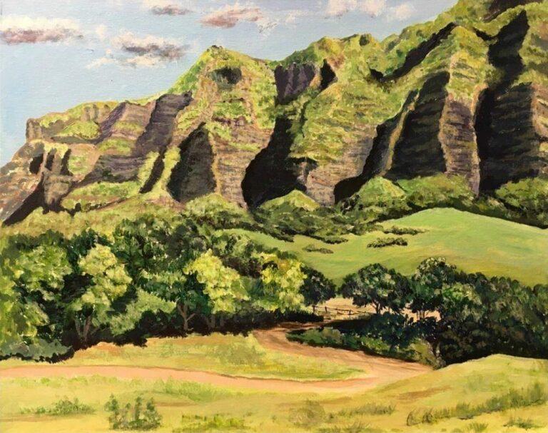 Kualoa Ranch 16×20