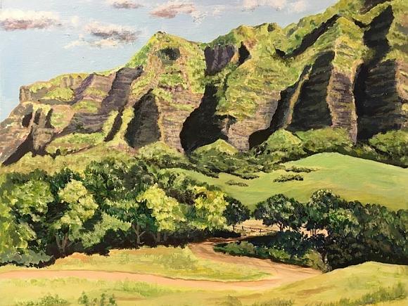 Hawaiian Oil Paintings