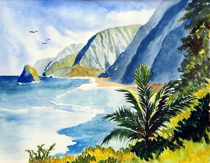 Kalawao Painting