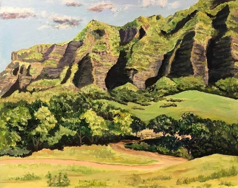 Kualoa Ranch Painting